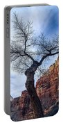 Zion Tree Woman Portable Battery Charger