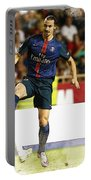 Zlatan Ibrahimovic In Action  Portable Battery Charger