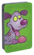 Zombie Puppy Portable Battery Charger