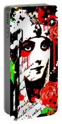 Zombie Queen Roses Portable Battery Charger
