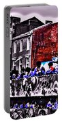 Zulu Krewe In Red And Blue Portable Battery Charger
