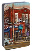 Zytynsky's Deli Rosemont Montreal Portable Battery Charger
