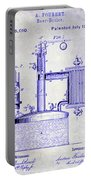 1878 Beer Boiler Patent Blueprint Portable Battery Charger