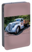 1938 Diamond T Stakebed Truck Portable Battery Charger
