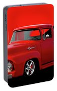 1956 Ford F100 Stepside Pickup Portable Battery Charger