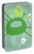 Abstract Splash Theme Iv Portable Battery Charger
