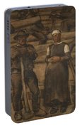 Albin Egger-lienz 1868 - 1926 The Ages Of Life Portable Battery Charger
