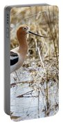American Avocet Portable Battery Charger by Michael Chatt