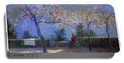 Angelo Morbelli 1853-1919, Spring In Colma - 1906 Portable Battery Charger