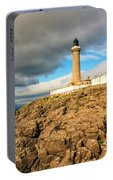 Ardnamurchan Point Lighthouse In Portrait Format. Portable Battery Charger