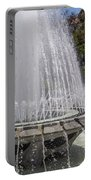 Arthur J. Will Memorial Fountain At Grand Park Portable Battery Charger