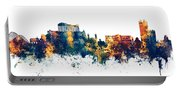 Athens Greece Skyline Portable Battery Charger