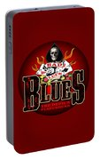 Bad Luck Blues Portable Battery Charger