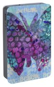 Believe Butterfly Portable Battery Charger