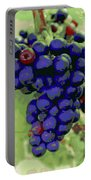 Blue Grape Bunches 6 Portable Battery Charger