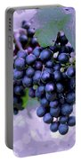 Blue Grape Bunches 7 Portable Battery Charger