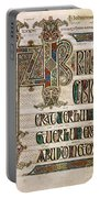 Book Of Lindisfarne Portable Battery Charger