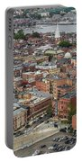 Boston Government Center, North End And Harbor Portable Battery Charger