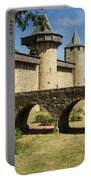 Bridge At Carcassonne Portable Battery Charger