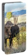 Bull Moose Portable Battery Charger by Michael Chatt