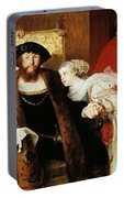 Christian II Signing The Death Warrant Of Torben Oxe  Portable Battery Charger
