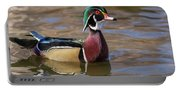Curious Wood Duck Portable Battery Charger