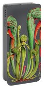 Darlingtonia Californica Portable Battery Charger