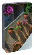 Flowering Portable Battery Charger