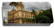 Havana's Palacio Del Centro Asturiano Portable Battery Charger