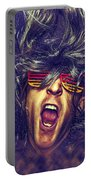 Heavy Metal Rock Star Portable Battery Charger