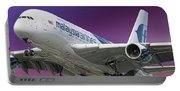 Malaysia Airlines Airbus A380-841 Portable Battery Charger