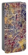 Munich Germany City Map Portable Battery Charger