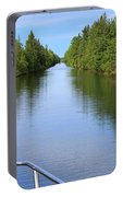 Narrow Cut On The Trent Severn Waterway Portable Battery Charger