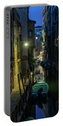 Night Walk In Venice Portable Battery Charger