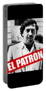 Pablo Escobar Portable Battery Charger