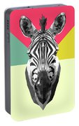 Party Zebra  Portable Battery Charger
