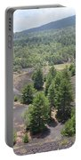 Photography Landscape Shot From The Etna National Park On Sicily Portable Battery Charger