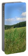 Photography Landscape With Fields In Germany Portable Battery Charger