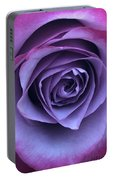 Purple Rose Portable Battery Charger