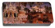 Ramayana Murals In A Palace, Royal Portable Battery Charger