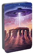 Stonehenge Ufo Portable Battery Charger