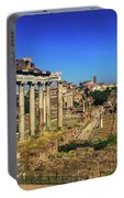 Temple Of Saturn Portable Battery Charger