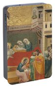 The Birth, Naming, And Circumcision Of Saint John The Baptist Portable Battery Charger