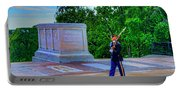 Tomb Of The Unknown Soldier Painting Portable Battery Charger
