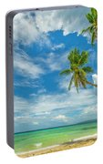 Tropical Beach, Siquijor Island Portable Battery Charger