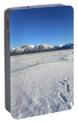 Turnagain Arm And Chugach Range From Hope Alaska Portable Battery Charger