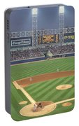 Usa, Illinois, Chicago, White Sox Portable Battery Charger
