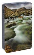 Winter River Rapids Portable Battery Charger