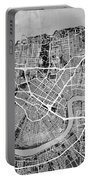 New Orleans Street Map Portable Battery Charger