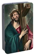 Christ Carrying The Cross  Portable Battery Charger